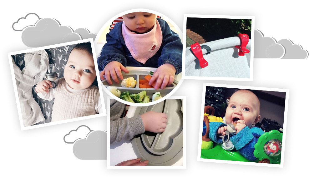 photo montage babies with products