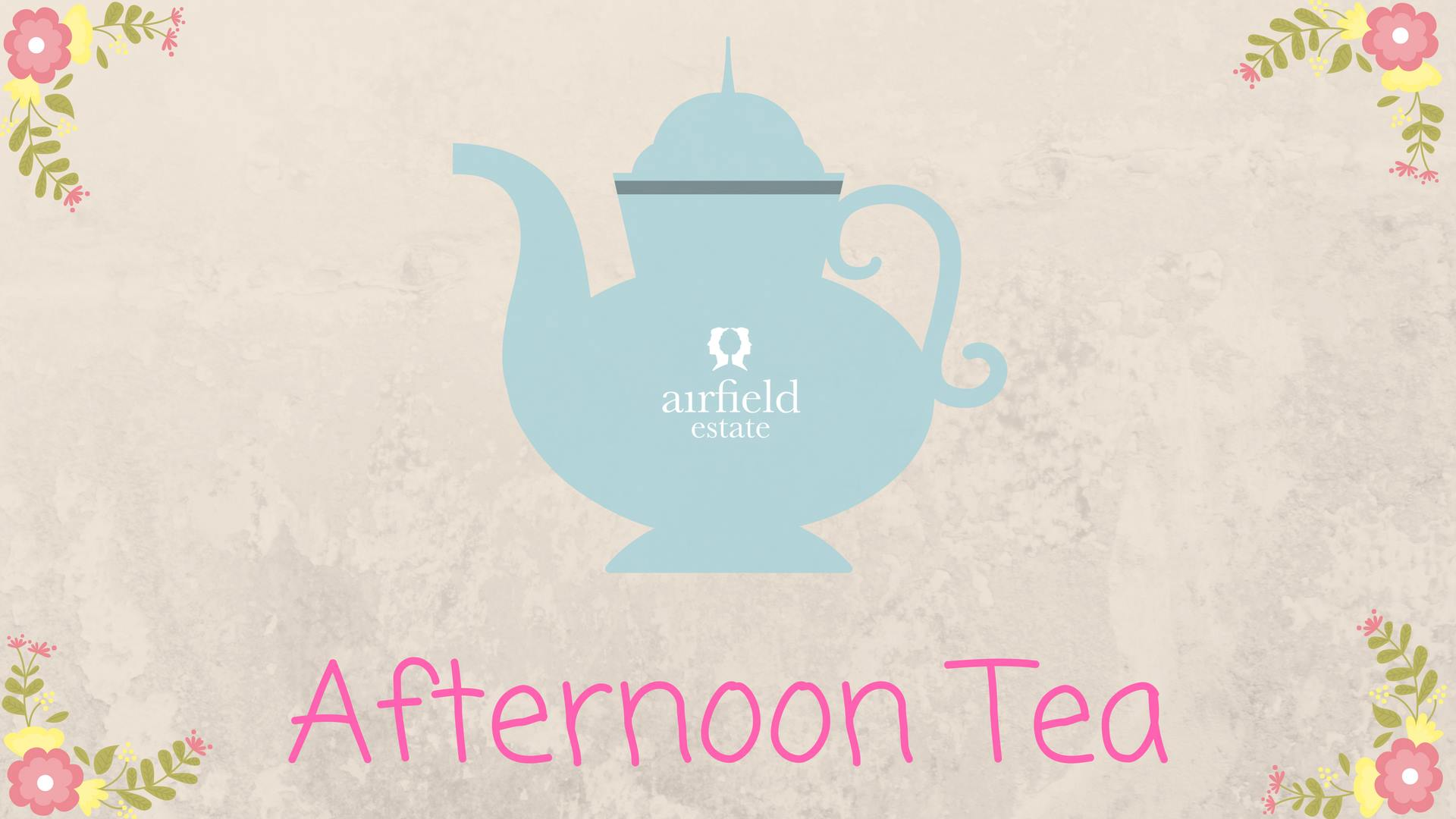 Afternoon tea with teapot