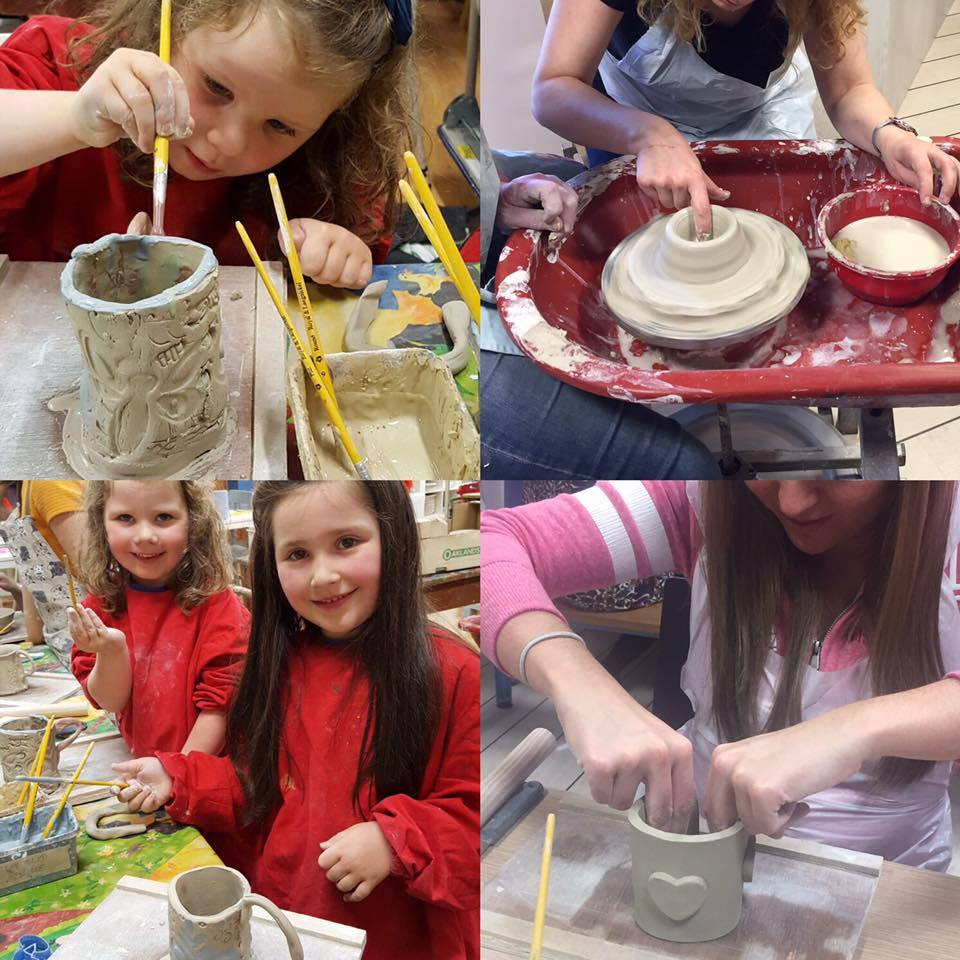 Giddy kids pottery