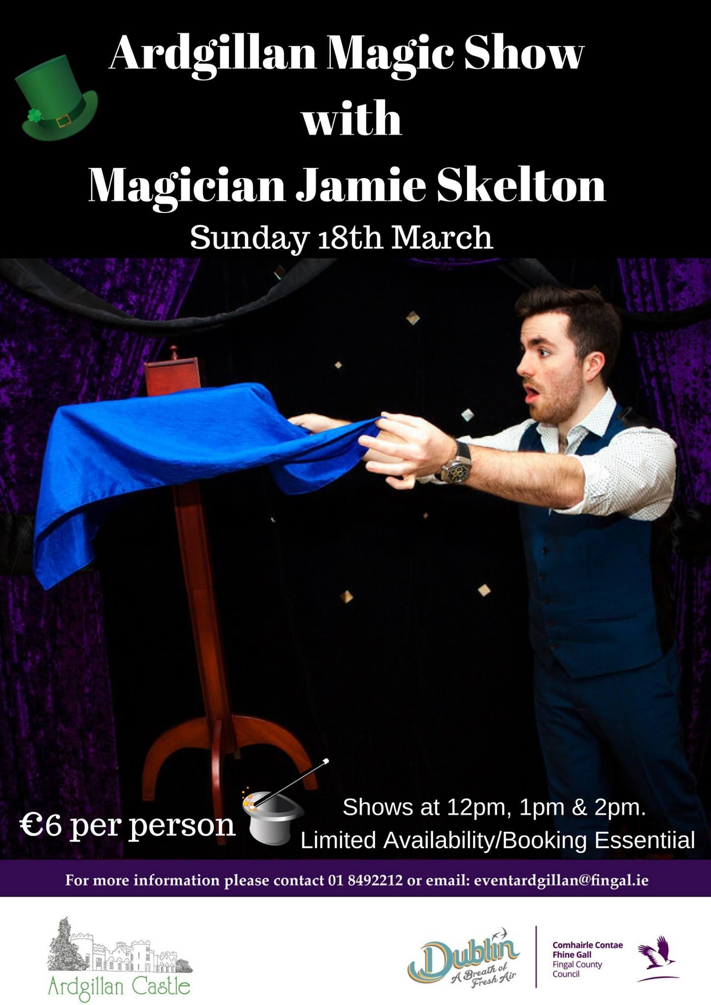 Magic show Ardilaun